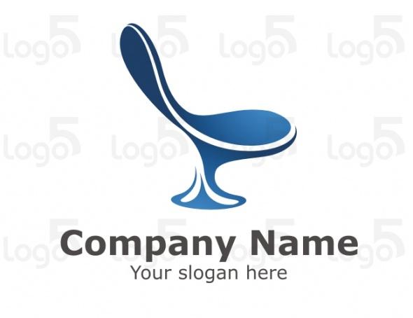 Interior Logo - Stylischer Stuhl