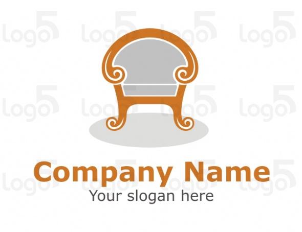 Jugendstil Sessel Logo
