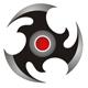 Dynamischer Ninjastern bzw. dynamisches Kreis