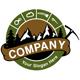 Bergsteiger Logo - Wald und Natur