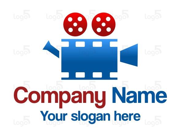 Filmvorführung - Logo für Kino