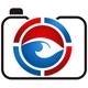 Fotograf Logo - Kamera mit einem Auge im Objektiv