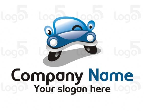 Auto Logo - Sympathische Karikatur