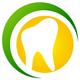Zahnarzt Logo - Zahn im Kreis