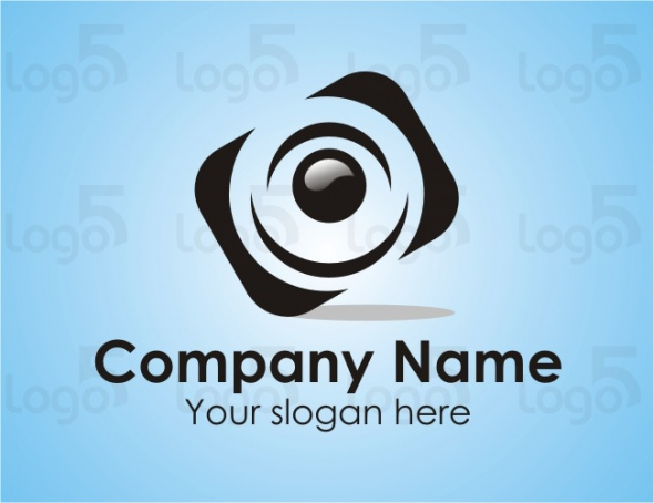 Fotostudio Logo - Abstrakte Kamera