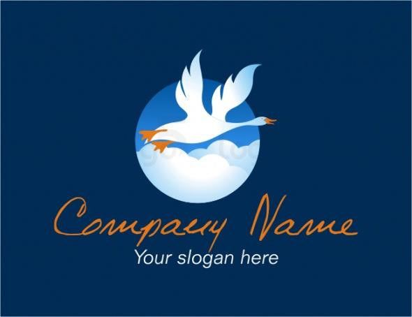 Daunenkissen und Daunen Produkte Logo