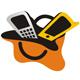 Handy Shop - Einkauftstasche mit Handys
