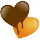 Schokoherz - Herz aus Schoko schmilzt dahin