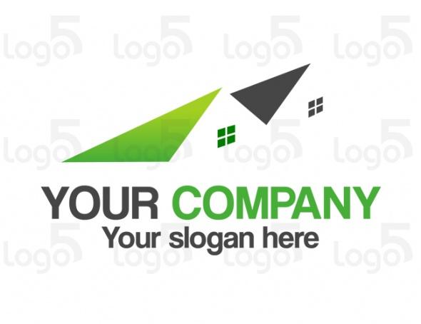 Perspektivische Reihenhäuser Logo