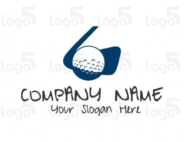 Golf bzw. Minigolf Logo