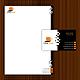 Geschäftspapier Set 15 - Notebook bzw. Computer