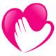 Herz in der Hand