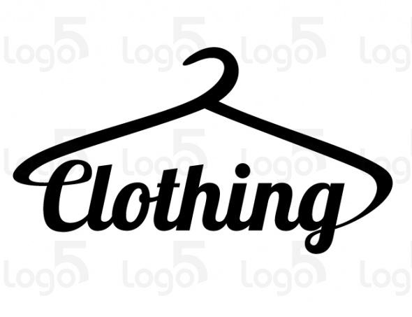 Kleiderbügel als Bestandteil der Wortmarke