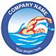 Logo für Schwimmbad oder Schwimmvereine