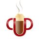 CUP - Kaffeetasse der beschreibend ist