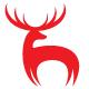 Hirsch bzw. Jagd Logo