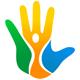Masseur Logo - Hand mit 3 Farben