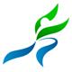Person macht Dehnübung - Logo für Krankengymnastik